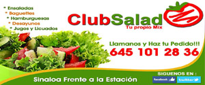 club salad slyde