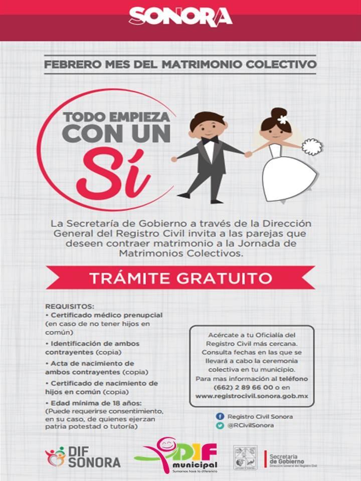 El 14 de Febrero será la Jornada de Matrimonios Colectivos Gratuitos ...