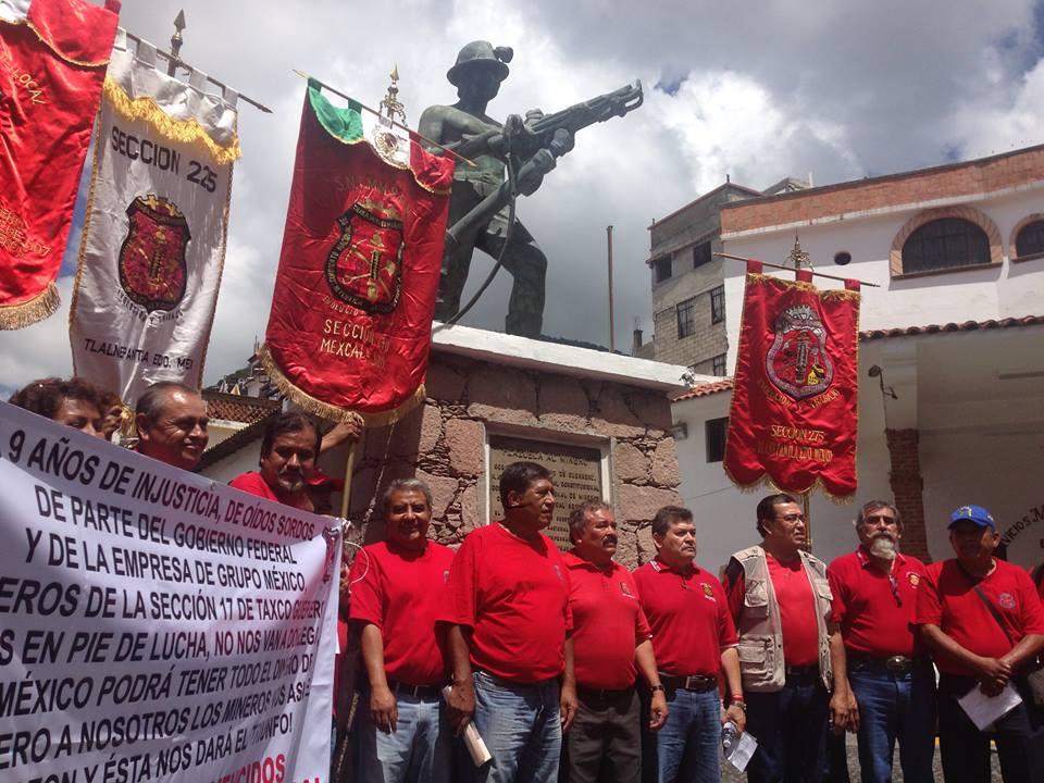La STPS citará a Grupo México en busca de una solución a la huelga en la mina de Taxco